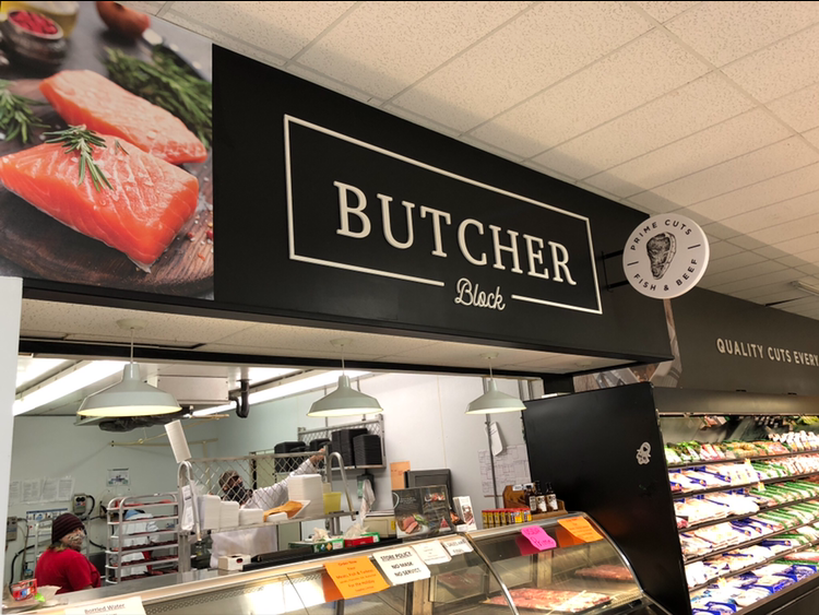 Our prime meat and fish department are still cut and displayed by our butchers!